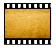 Film frame. 35 mm Film roll for background,2D computer art Royalty Free Stock Photo