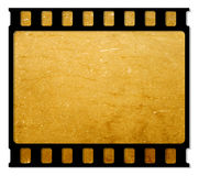 Film frame. 35 mm Film roll for background,2D computer art Stock Image