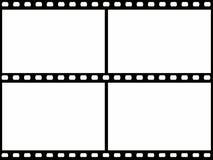 Film frame. Computer designed film frame Royalty Free Stock Photos