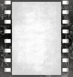 Film frame(black&white) with texture  Stock Photos