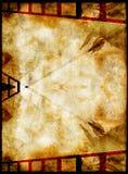 Film frame grunge background stock image
