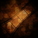 Film frame. On a grunge vintage background Stock Image