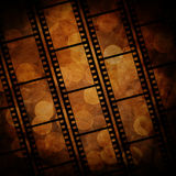 Film frame. On a grunge vintage background Royalty Free Stock Image