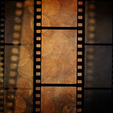 Film frame. On a grunge vintage background Stock Photography