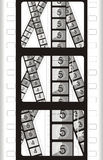 Film Frame - Movie Background Royalty Free Stock Images