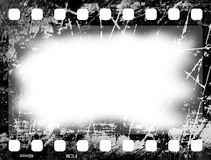 Film Frame Old. Picture Frame Royalty Free Stock Photo