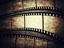 Film frame. Vintage background with film frame Stock Images