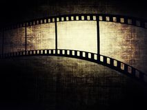 Film frame. Vintage background with film frame Stock Photos