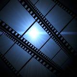 Film frame. Vintage background with film frame Stock Image
