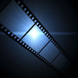 Film frame. Vintage background with film frame Stock Photography