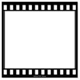 Film Frame. On white background Stock Images