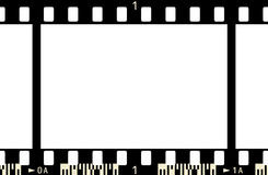 Film Frame (x1_3). 35 mm Film Frame (with numbers and film code Stock Illustration