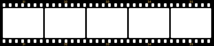 Film frames Royalty Free Stock Photography
