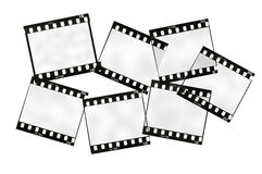Film frames Royalty Free Stock Photo