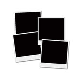 Film Frames. Several instant film frames on an isolated white background Royalty Free Stock Image