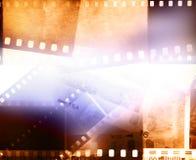 Film frames background stock image