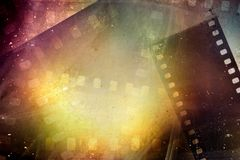Film frames background royalty free stock photos