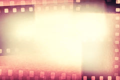 Film frames. Film negative frames background. Copy space Stock Photos