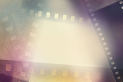 Film frames. Film negative frames background. Copy space Stock Image