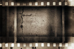 Film frames Stock Images