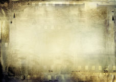 Film frames Stock Image