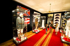 Film garderoby pokaz przy Ksiaz kasztelem Zdjęcia Royalty Free