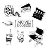 Film-Gekritzel Stockbild