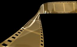 Film Gold Stock Images