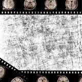 Film on grunge background Royalty Free Stock Photo