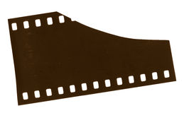 35mm Film Strip Stock Photo