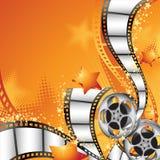 Film-Hintergrund Stockfotografie