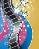 Film-Hintergrund Lizenzfreie Stockfotografie
