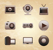 Film icon Obraz Royalty Free
