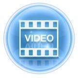 Film icon ice Stock Photo