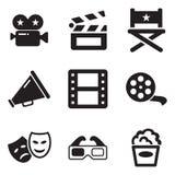 Film-Ikonen Lizenzfreie Stockfotos