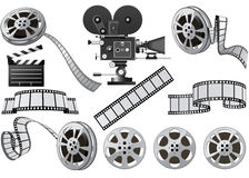 Film Industry Royalty Free Stock Photos