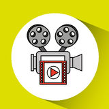 Film industry design. Illustration eps10 graphic Stock Photo