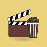 Film industry design. Illustration eps10 graphic Stock Images