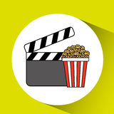 Film industry design. Illustration eps10 graphic Stock Photos