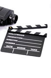 Film industry and film production concept Stock Images