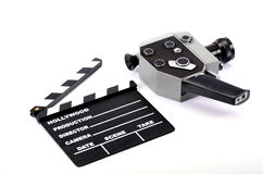 Film industry and film production concept Royalty Free Stock Image