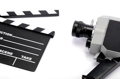 Film industry and film production concept Stock Image