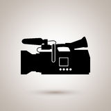 Film industry flat icon  design. Illustration eps10 graphic Stock Image