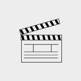 Film industry flat icon  design. Illustration eps10 graphic Royalty Free Stock Photo