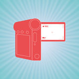 Film industry flat icon  design. Illustration eps10 graphic Stock Photos
