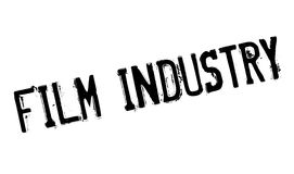Film Industry rubber stamp. Grunge design with dust scratches. Effects can be easily removed for a clean, crisp look. Color is easily changed Royalty Free Stock Image