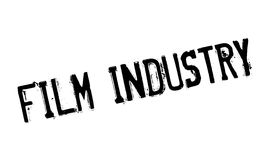 Film Industry rubber stamp. Grunge design with dust scratches. Effects can be easily removed for a clean, crisp look. Color is easily changed Royalty Free Stock Images