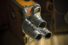 Film kamera zdjęcie stock