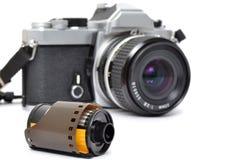 Film-Kamera Lizenzfreie Stockfotografie