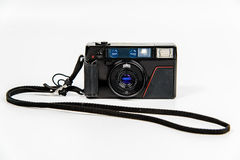 Film-Kamera mit Abzugsleine Stockbilder